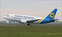 Фото Ukraine International Airlines