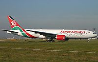 Фото Kenya Airways