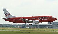 Фото Virgin Express