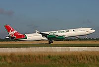 Фото Virgin Nigeria Airways