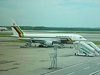 Фото Air Zimbabwe